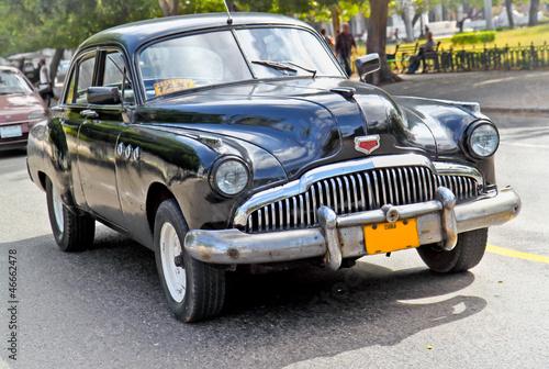 Classic american car in Havana.