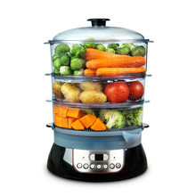 Healthy Food In Steam Cooker