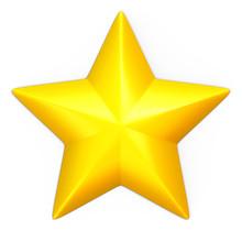 Single Yellow Star