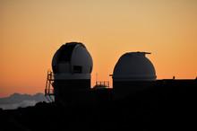 Mauna Kea Observatory At Sunset, Haleakala NP (Maui-Hawaii)