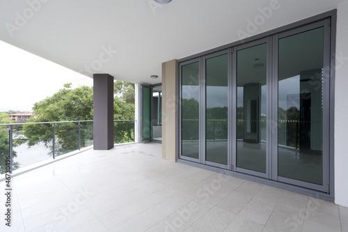 Empty balcony Fototapete