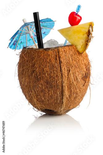 Obraz na plátně  coconut cocktail I