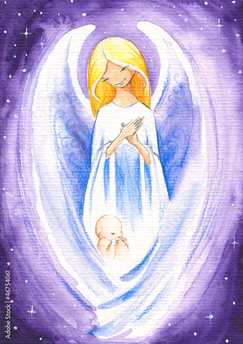 aniol-chron-dziecko