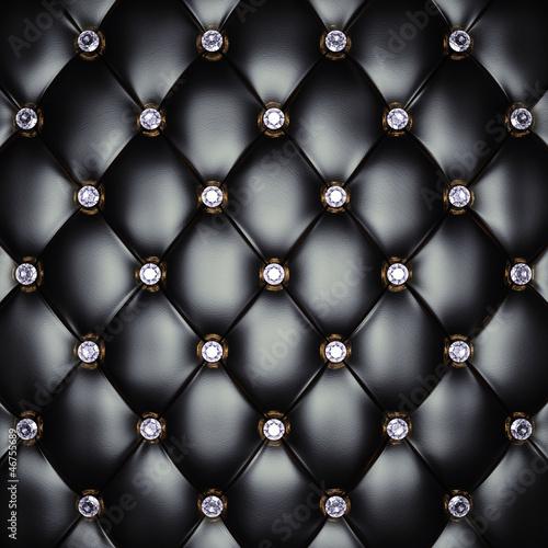 Fototapeta czarne figury z diamentami