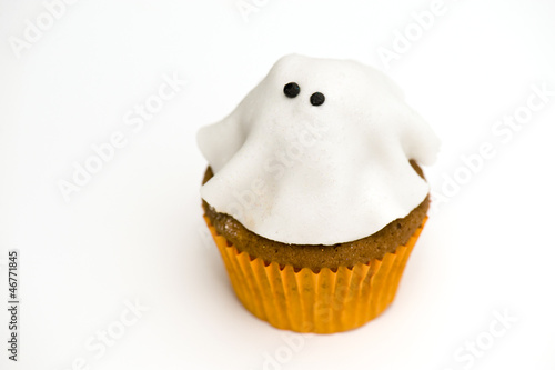 Ghostly cupcake Poster
