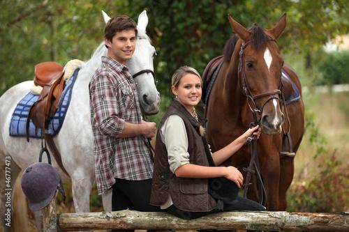 Fotografia Horse riding
