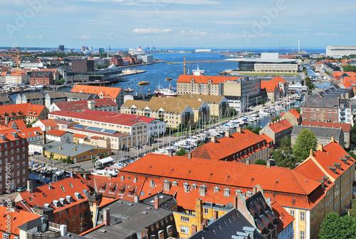 Photo  Copenhagen  top-view