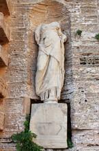 Roman Statue In Ibiza