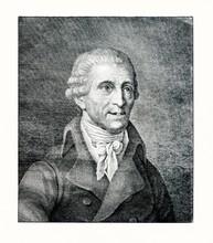 Portrait Of Composer Franz Jos...