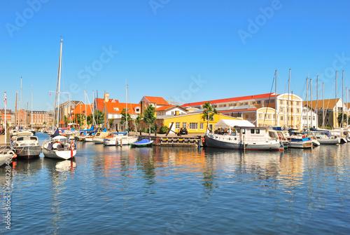 Photo Beautiful canal in Copenhagen