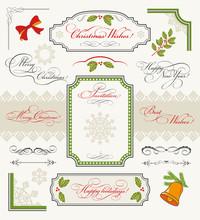 Christmas Collection Of Callig...