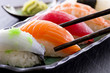 canvas print picture - sushi