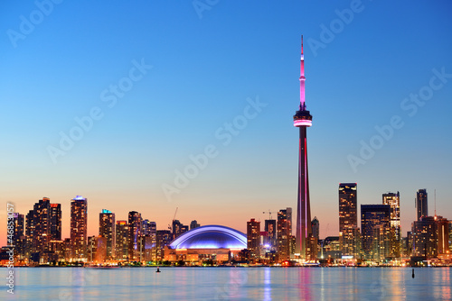 Canvas Print Toronto skyline