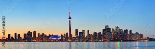 Foto auf Leinwand Toronto Toronto skyline