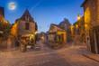 canvas print picture - medieval village of Beynac, Dordogne, France