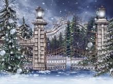 Stara Brama Ze świątecznymi ...
