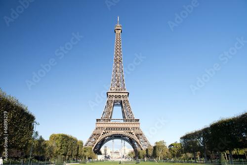 Staande foto Parijs Autumn in Paris - Eiffel tower