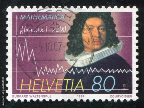 Tela Mathematician Jacob Bernoulli