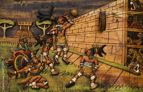 Great Ballcourt at Chichen Itza Canvas Print