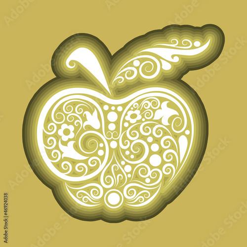 Apple icon ornament