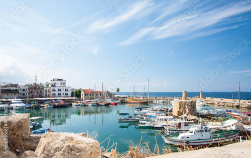 Photo Stands Cyprus Kyrenia harbour