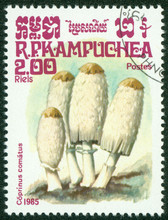 Stamp Printed In Cambodia Show...