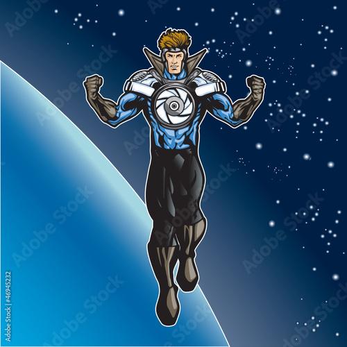 Poster Superheroes Super4 D