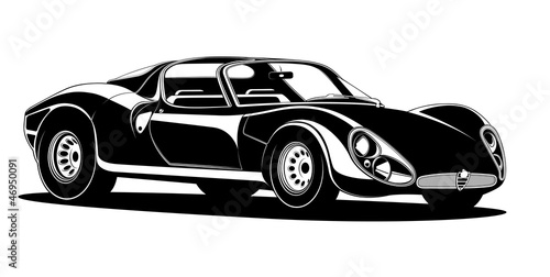 wektorowy-samochod-w-stylu-retro