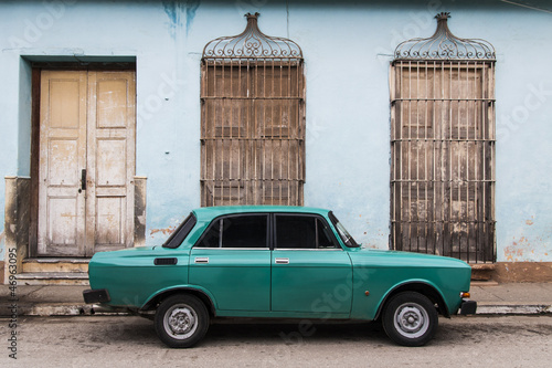 Canvas Prints Cars from Cuba Cuba
