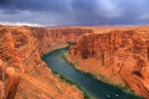 Beautiful glen canyon area Canvas Print