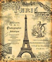 Fototapeta Paris 1900