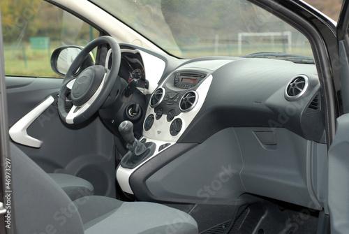 фотография  modern car interior