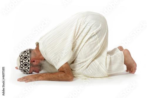 Fotografija  homme islam en position de prière