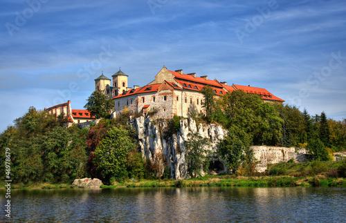 Cadres-photo bureau Cracovie Tyniec Monasterio