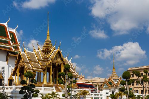 Phra Thinang Aphorn Phimok Prasat of the Grand Palace, Bangkok Canvas Print