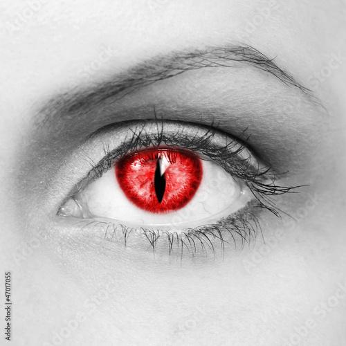 The vampire eye Canvas Print
