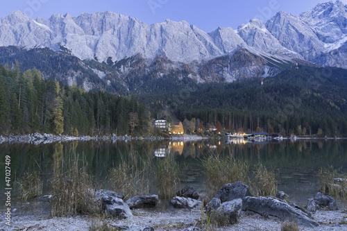 Fototapety, obrazy: Eibsee lake