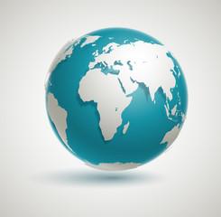 Fototapeta Vector Globe Icon