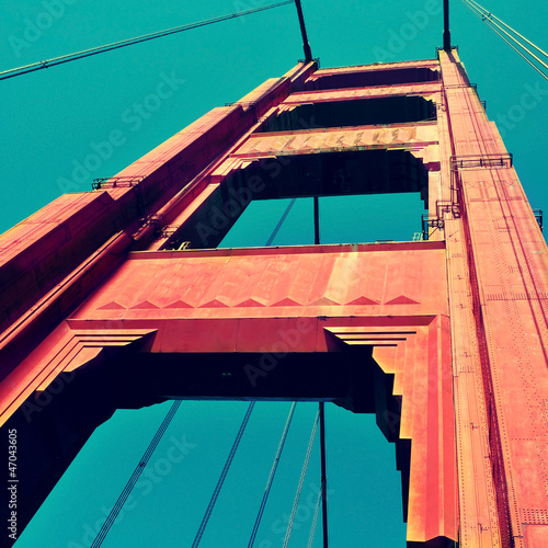 Keuken foto achterwand San Francisco Golden Gate Bridge, San Francisco, United States