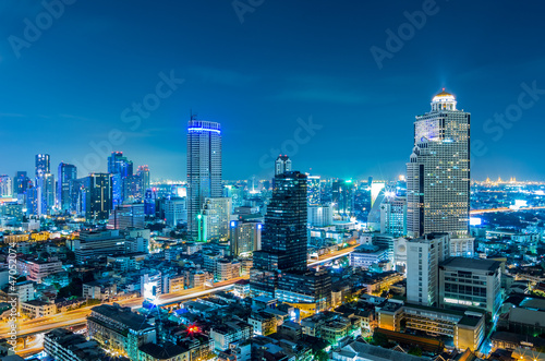 Photo  Bangkok cityscape.