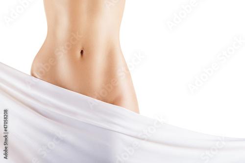 Obraz Slim woman's body - fototapety do salonu