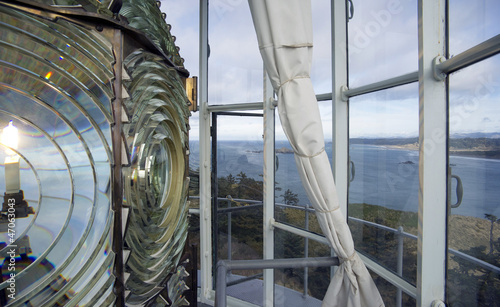Fotografie, Obraz  Lighthouse Lens