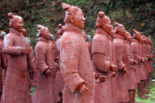 Papiers peints Xian Chinese Terracotta Warriors
