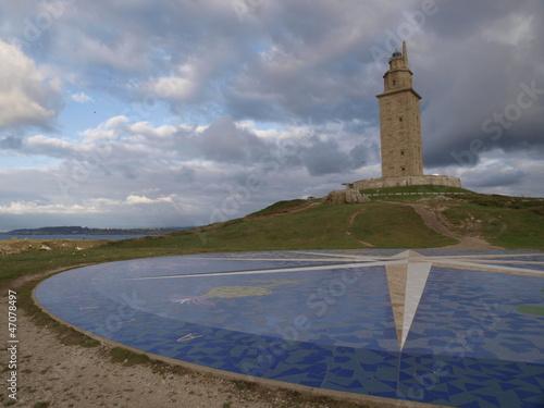 Torre de Hercules en La Coruña
