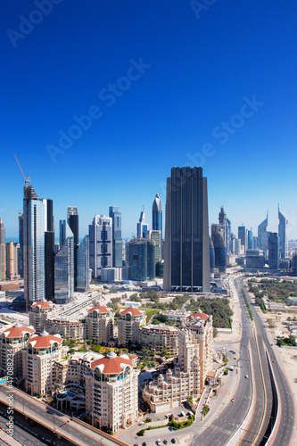 Photo  The financial hub of Dubai is graced with exciting architecture