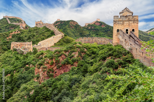 Foto op Canvas China muraille de chine