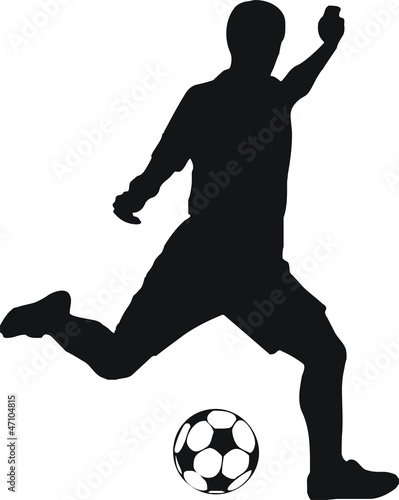 pictogramme footballeur