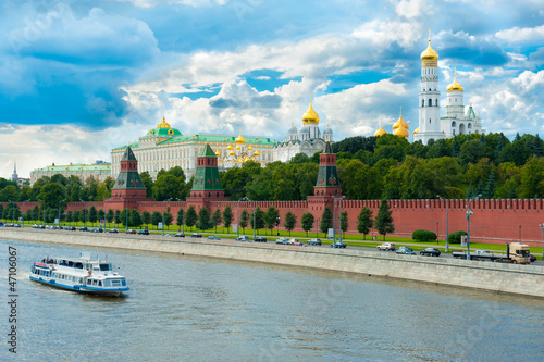 Photo Kremlin in Moscow, Russia.