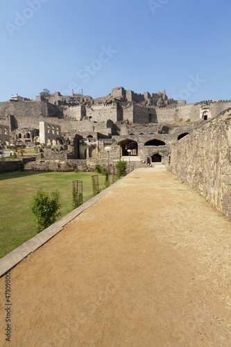 Photo  Golconda Fort, Hyderabad, Andhra Pradesh,