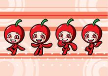 Cute Cherry Girl